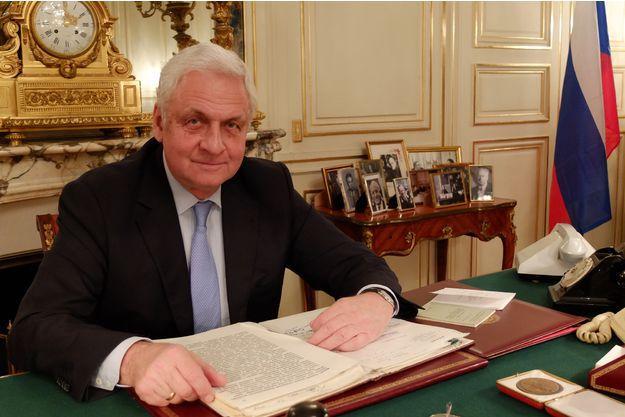 ALEXANDRE ORLOV, Ambassadeur de la Fédération de Russie en France.